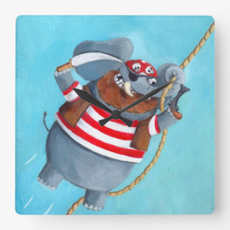 Elefante - el mejor animal del pirata reloj