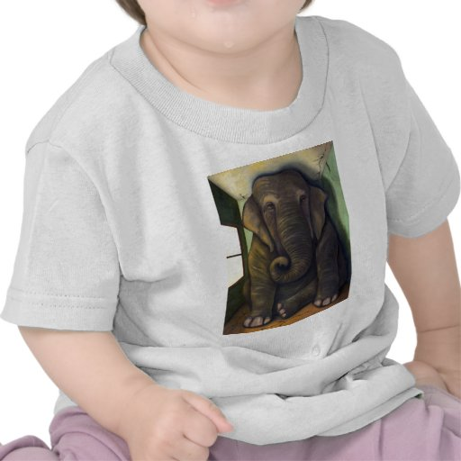 Elefante en el cuarto camiseta
