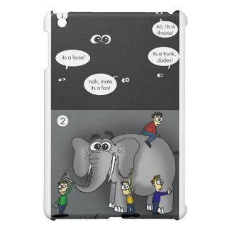 Elefante en un cuarto oscuro