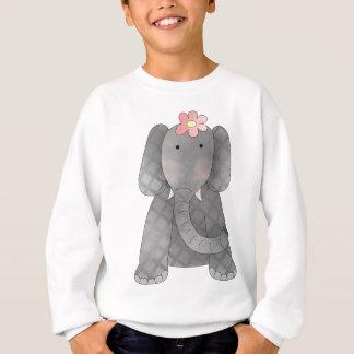 Elefante femenino sudadera