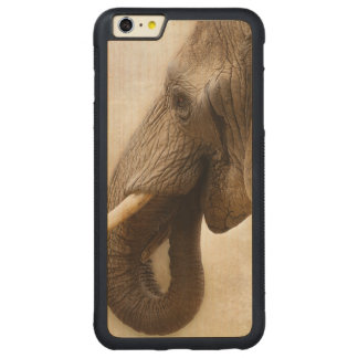 Elefante Funda Para iPhone 6 Plus De Carved® De Nogal