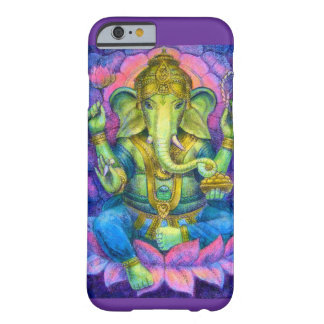 Elefante hindú afortunado del caso del iPhone 6 de