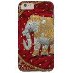 Elefante indio embellecido funda de iPhone 6 plus tough