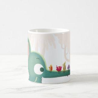 """Elefante juguetón - """"haciendo a amigos """" tazas de café"""