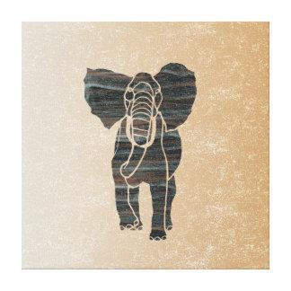 Elefante Lona Estirada Galerías