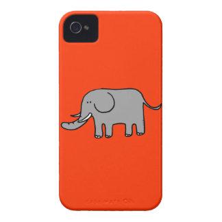 Elefante lindo carcasa para iPhone 4