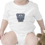Elefante lindo Clipart del dibujo animado Camiseta