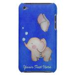 Elefante lindo con el 4to caso de la generación iP Case-Mate iPod Touch Fundas