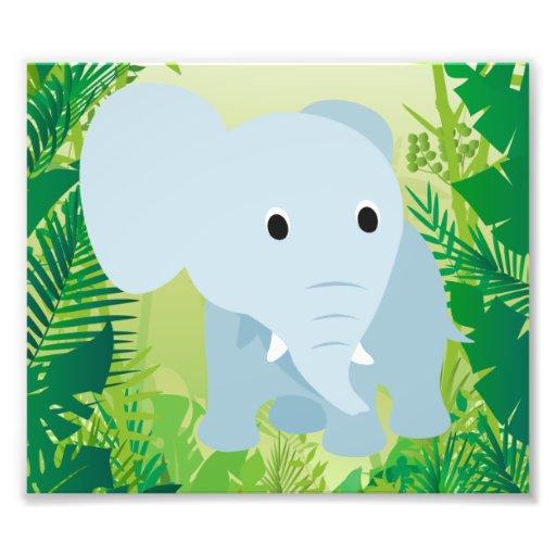 Elefante lindo del bebé fotografías
