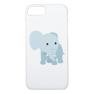 Elefante lindo del bebé funda iPhone 7