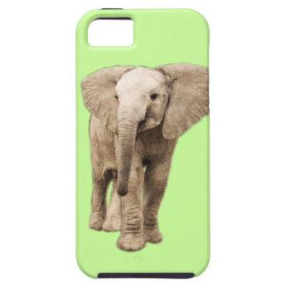 Elefante lindo del bebé funda para iPhone SE/5/5s