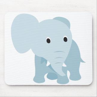 Elefante lindo del bebé mousepad