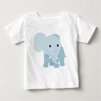 Elefante lindo del bebé camiseta