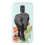 Elefante lindo del Hippie Funda De Galaxy S5