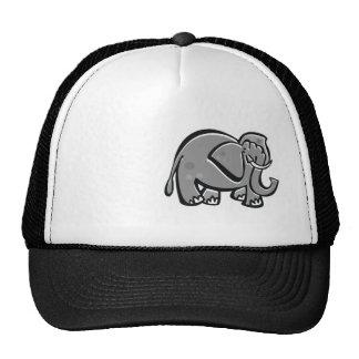 Elefante lindo Fresco Gorros Bordados