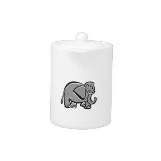 Elefante lindo; Liso