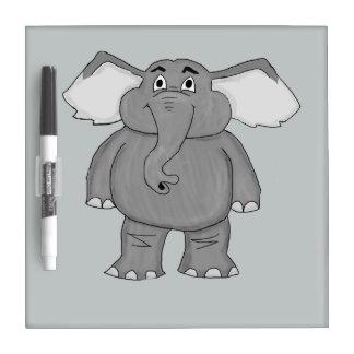 Elefante lindo pizarra