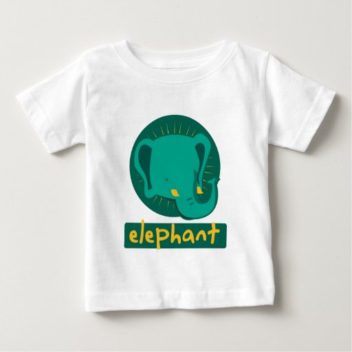 elefante lindo playera