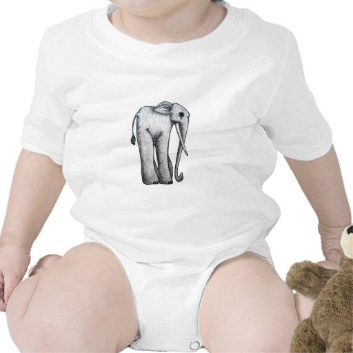 Elefante lindo por Aije Camisetas