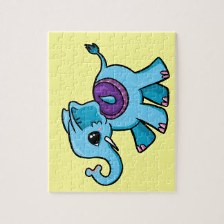 Elefante lindo puzzle