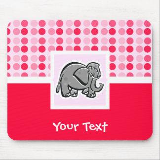 Elefante lindo tapete de raton