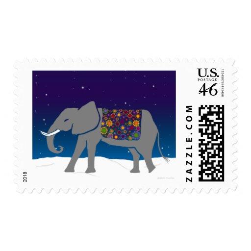 Elefante maravilloso franqueo
