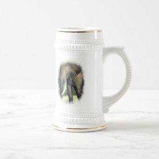 Elefante - modificado para requisitos particulares jarra de cerveza