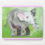 Elefante Mousepad Alfombrilla De Ratones