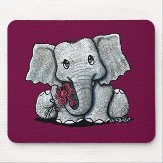 Elefante Mousepad de KiniArt
