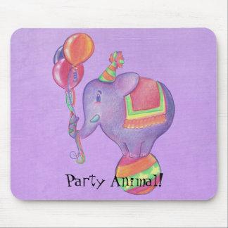 Elefante Mousepad del fiesta