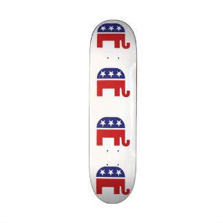 """Elefante original republicano patineta 7 3/4"""""""