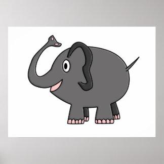 elefante impresiones