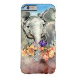 Elefante pacífico funda de iPhone 6 barely there