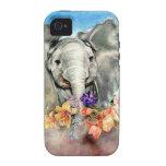 Elefante pacífico iPhone 4/4S carcasas