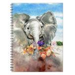Elefante pacífico libretas espirales