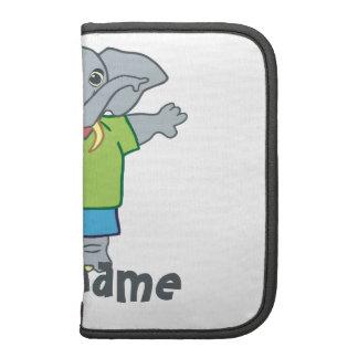 Elefante personalizado del fútbol planificador