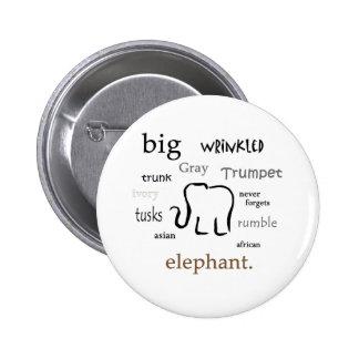 elefante pin