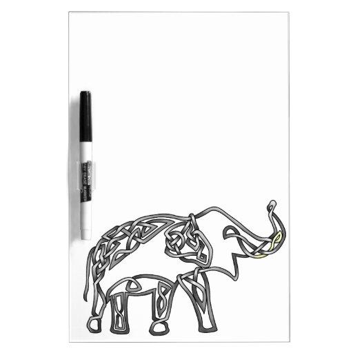 Elefante Pizarras Blancas
