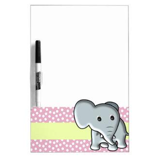Elefante Pizarras Blancas De Calidad