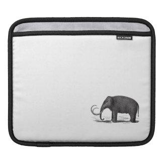 Elefante prehistórico del mamut lanoso funda para iPads