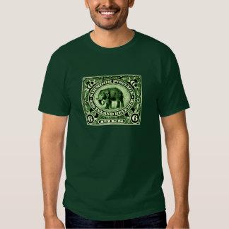 Elefante principesco indio de 1895 estados polera