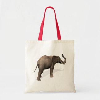 Elefante que toma un Selfie Bolsa Tela Barata