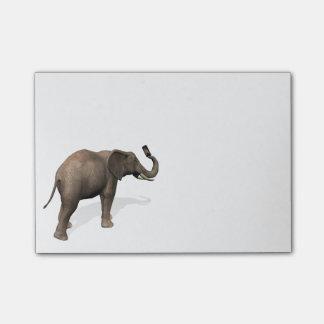 Elefante que toma un Selfie Post-it Notas