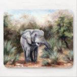 Elefante que viene con Mousepad Alfombrillas De Raton