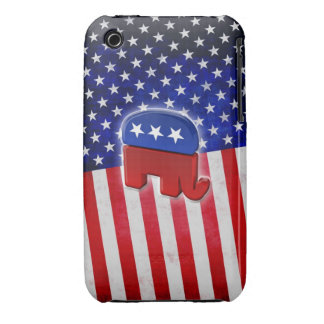 Elefante republicano Case-Mate iPhone 3 protector