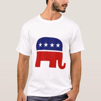 Elefante republicano del elefante/GOP Playera
