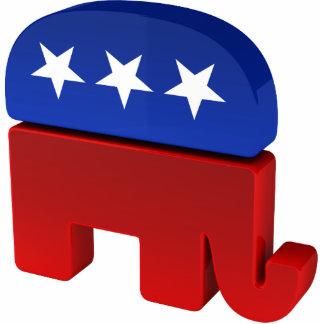 Elefante republicano escultura fotografica