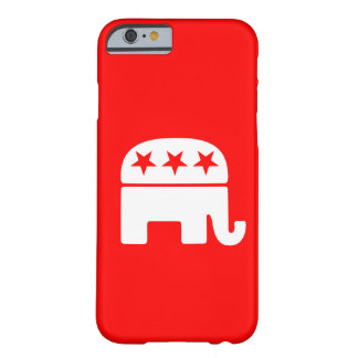 Elefante republicano funda de iPhone 6 barely there