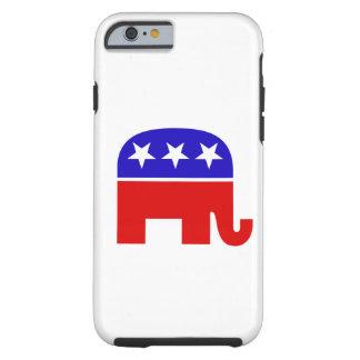 Elefante republicano funda de iPhone 6 tough