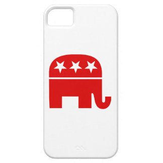 Elefante republicano funda para iPhone 5 barely there